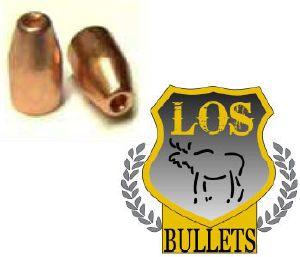 Balles LOS     9 mm -  145 gr HP 356 - COPPER PLATED