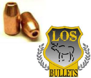 Balles LOS    38 / 357 -  158 gr HP 358 - COPPER PLATED