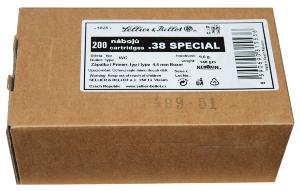 Munitions Sellier Bellot 38 Special WC 148 gr - vrac
