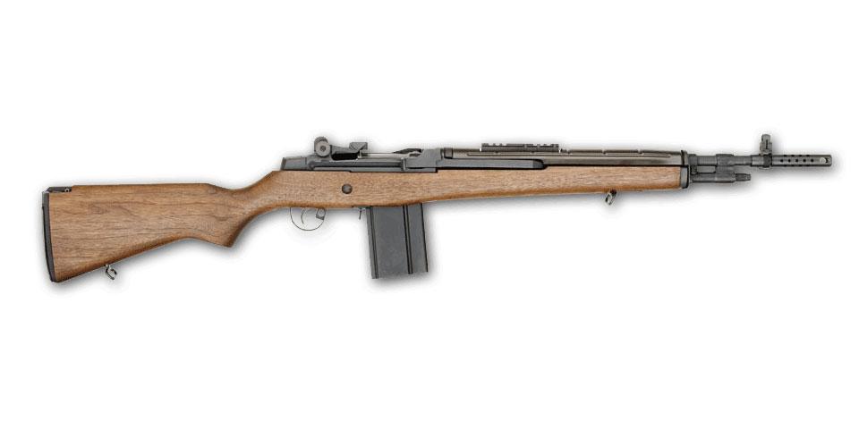 Springfield Armory M1A SCOUT SQUAD Bois (Noyer) - Cliquer pour agrandir