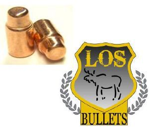 Balles LOS    38 / 357 -  158 gr SWC 358 - COPPER PLATED