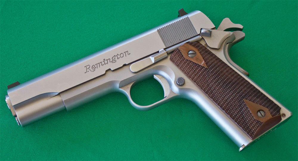 Pistolet Remington 1911 R1 Stainless - Cliquer pour agrandir