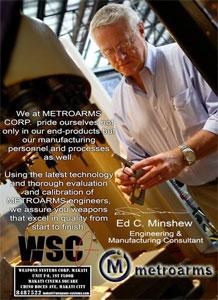 MAC - Metro Arms Corporation : Découvrir la gamme...