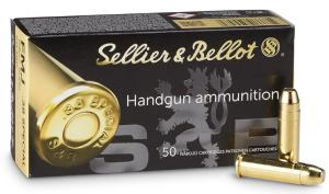 Munitions Sellier Bellot 38 Special FMJ Flat