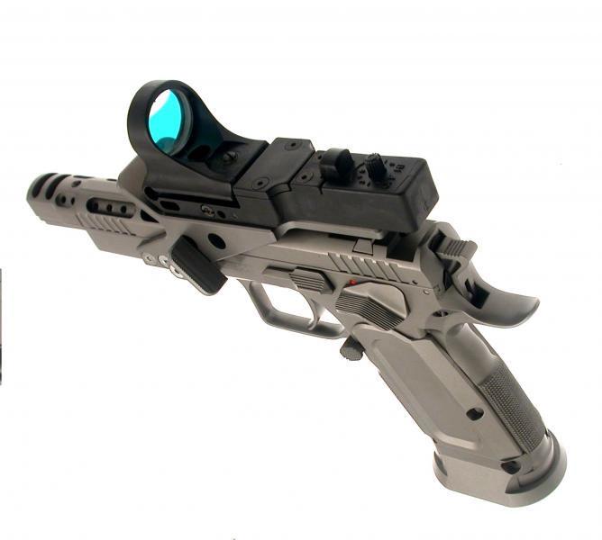 Pistolet Tanfoglio Gold Custom Eric 2010 - Cliquer pour agrandir