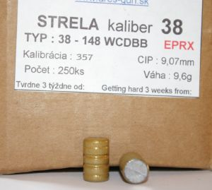 Balles Ares 38 - 148 gr WCDBB EPRX 357