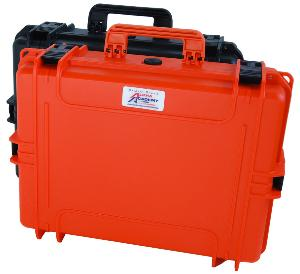 Valise Hard Case - DAA (Orange, Taille L ou XL)