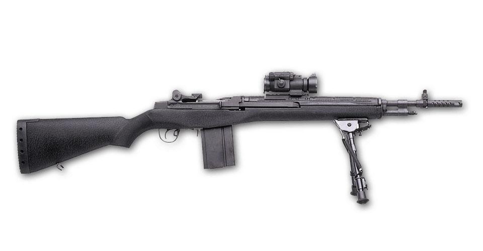Springfield Armory M1A SCOUT SQUAD Composite Noir - Cliquer pour agrandir