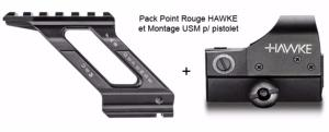 Pack Montage Point Rouge FAB DEFENSE USM  + Reflex Sight Weaver HAWKE