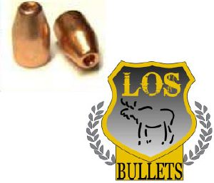 Balles LOS     9 mm -  123 gr HP 356 - COPPER PLATED