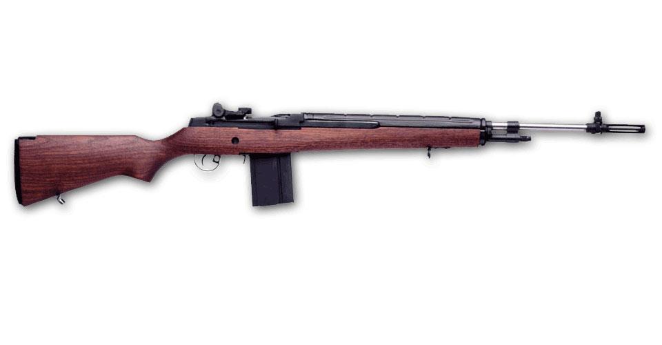 Springfield Armory M1A LOADED Bois et canon Inox - Cliquer pour agrandir