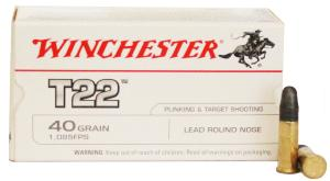 Munitions Winchester 22 LR T22