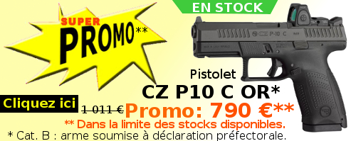 PISTOLET CZ P10 C OR - Super Promo