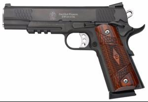 "Pistolet Smith & Wesson SW1911 ""E"" Series TA blued"