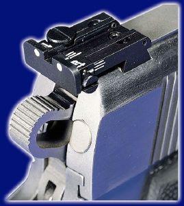 Lpa Rear Sight For Cz 75 85 Pistol New Models