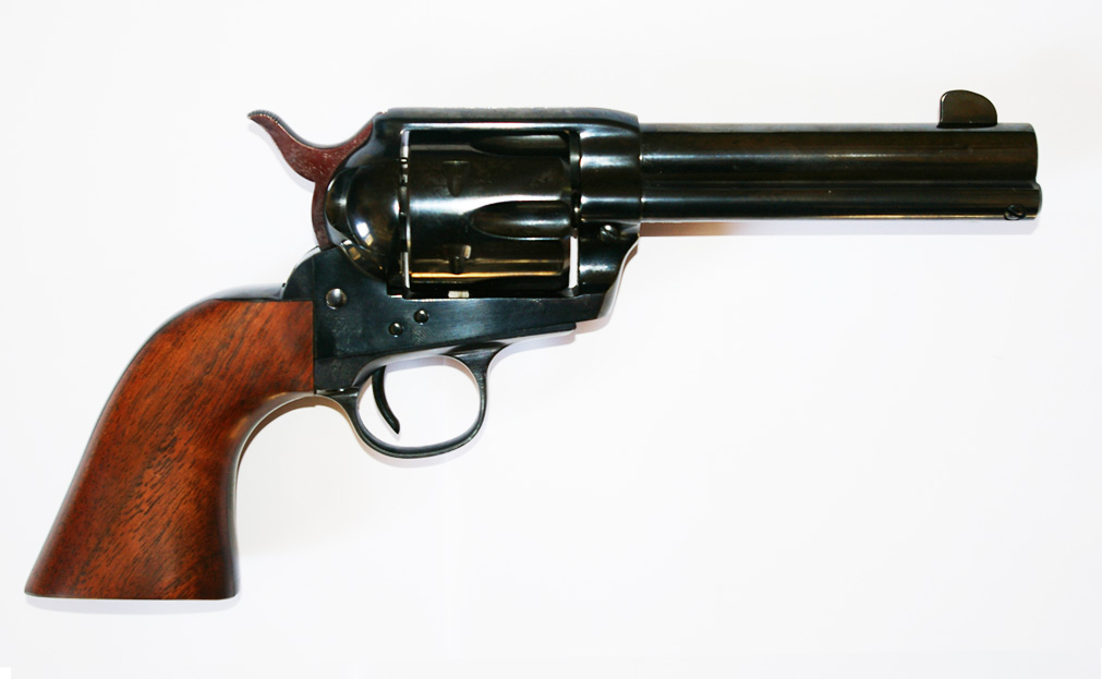 Revolver Pietta 1873 SA Noir Brillant - Cliquer pour agrandir