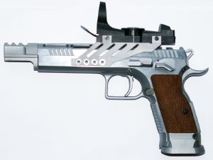 "Pistolet Tanfoglio Gold Custom TLGS ""Entry"""
