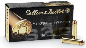 Munitions Sellier Bellot 357 Mag FMJ Chemisée bout plat