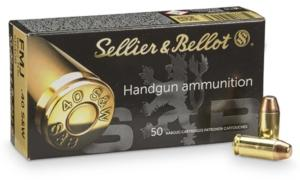 Munitions Sellier Bellot 40 SW