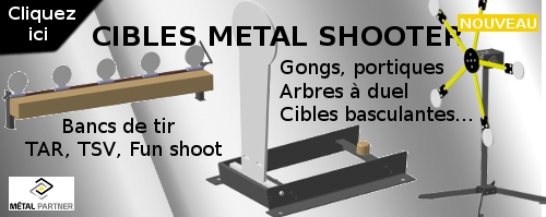 CIBLES METAL SHOOTER