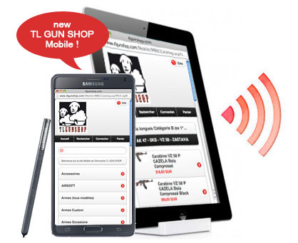 TL GUN SHOP Mobile, Tablet and Smartphone