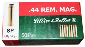 Munitions Sellier Bellot 44 Magnum SP