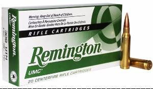 Munitions UMC Remington 308 W