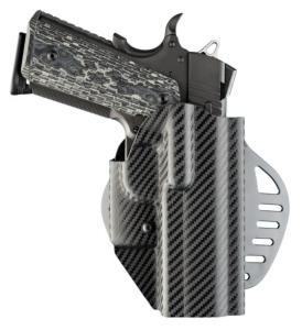 Holster HOGUE ARS STAGE 1 CF WEAVE 52844 pour pistolet 1911 Commander