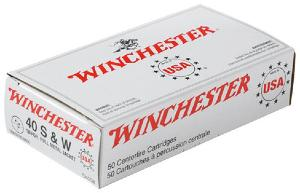 Munitions Winchester 40 SW FMJ