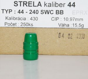 Balles Ares 44 Mag - 240 gr SWCBB EPRX 430