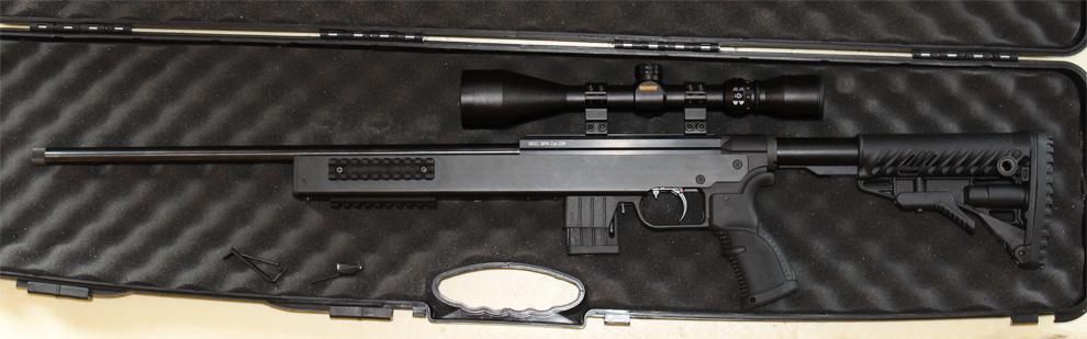 mallette pour carabine avec lunette