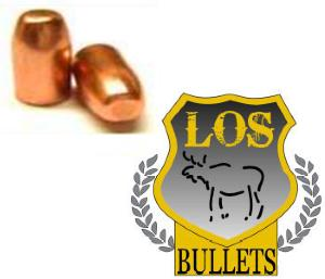 Balles LOS  44 Mag -  240 gr RNFP 429 - COPPER PLATED