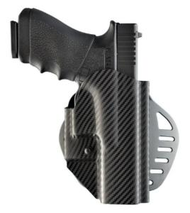 Holster HOGUE ARS STAGE 1 CF WEAVE 52817 pour pistolet Glock 17, 22, 31, 37