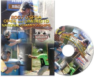 DVD 2007 USPSA Open et Limited 10