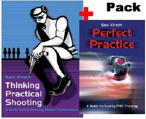 "Pack Livres : ""Perfect practice"" et ""Thinking Practical Shooting"""